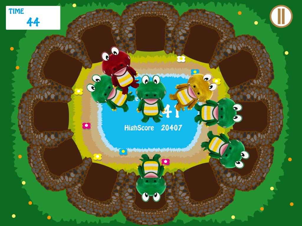 トヨナカワニックゲーム画面
