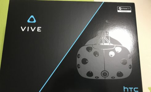 HTC VIVE 外箱