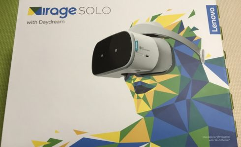 Lenovo Mirage SOLO with Daydream 外箱