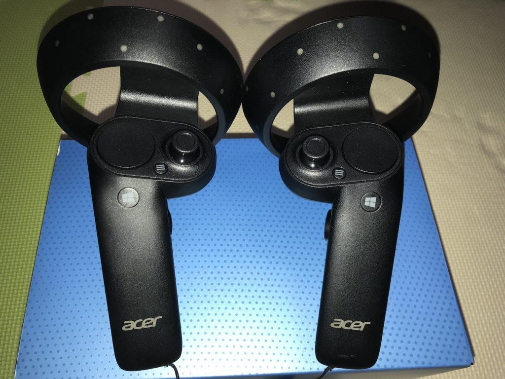 Acer Windows Mixed Reality ハンドルコントローラ
