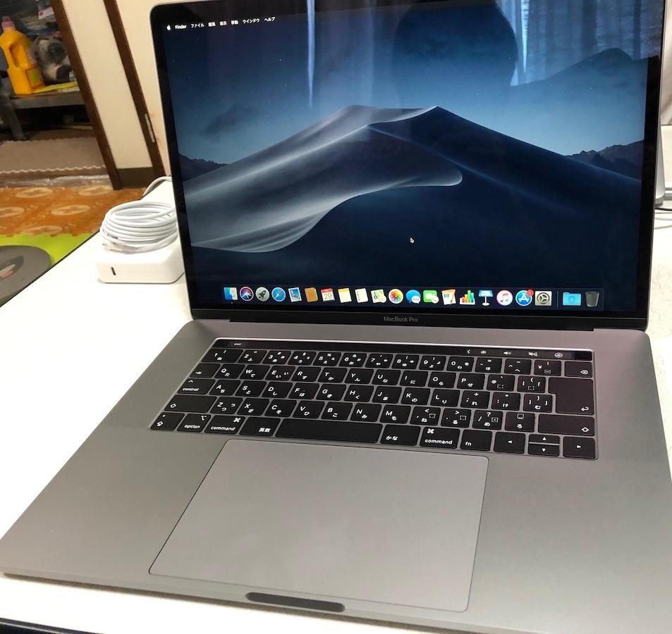 MacBook Pro 2019年モデル