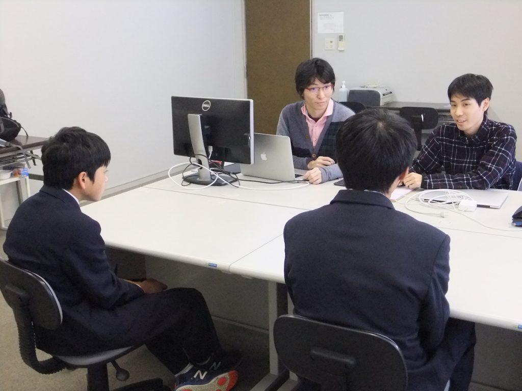 豊中市立中学校の職場体験実習の受け入れを行いました