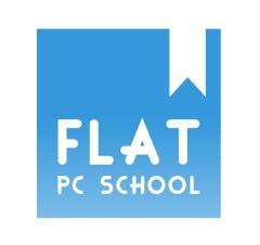 フラットパソコンスクールロゴ