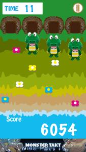 トヨナカワニックミニゲーム画面